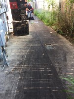 Power Washing Grease Removal